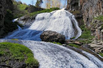 Wasserfall von Jermuk