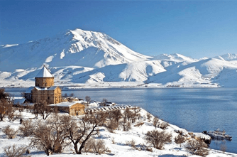 Winter in Armenien