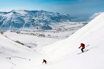 Skigebiet in Armenien