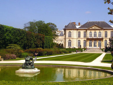 The Museum of Rodin in Paris