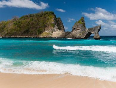 The island of Nusa Penida
