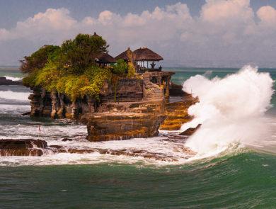 Pura Tanah Lot, Bali island