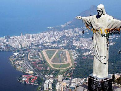 Памятник Иисуса в Рио Дe Жанейро