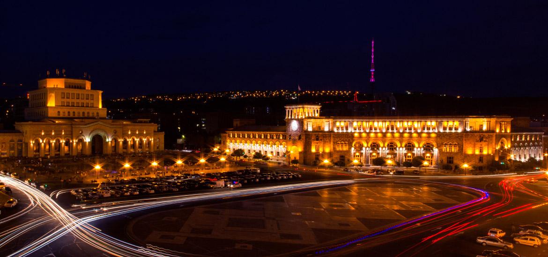Vacation in Yerevan 2017 - 2018