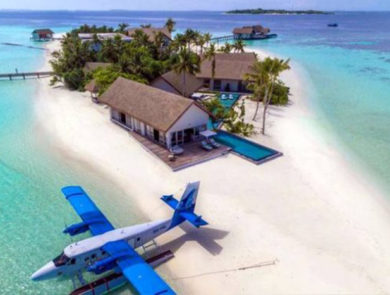 Voavah, private Island