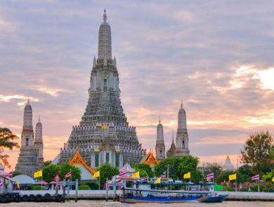 Pho and Wat Arun, Bangkok