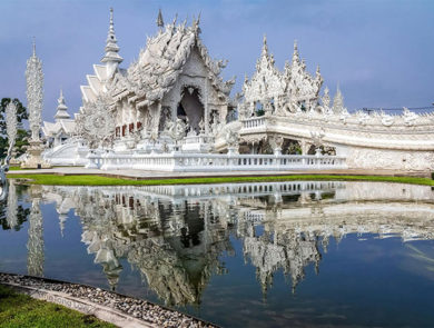 ''White Temple'' in Chiang Rai