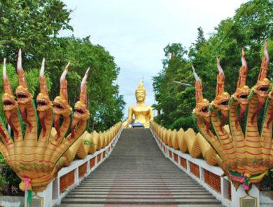 Wat Phra Yai տաճարը (Մեծ Բուդդա)