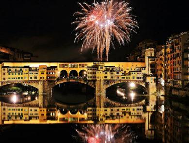 Old bridge of Florence