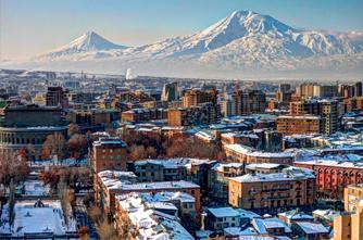 Зимний Ереван