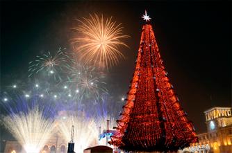 Новогодний Ереван