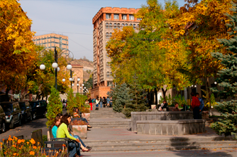 Autumn in Yerevan