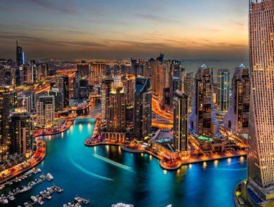 Марина, Дубай