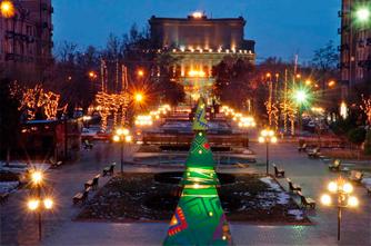 Зимний Каскад