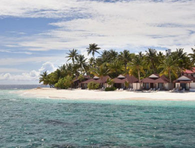 Villas on the island of Tudoufushi