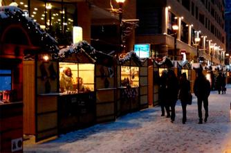 Weihnachtsmarkt in Jerewan