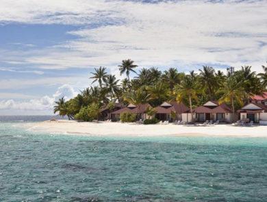 Villas on the island of Tudoufushi