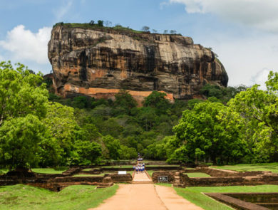 Lion's Rock, Sigiriya, Sri Lanka
