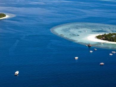 Wabbinafaru Island in the Maldives