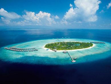 The farthest island in the Maldives, Manafaru