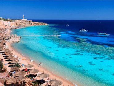 Beach rest in Egypt