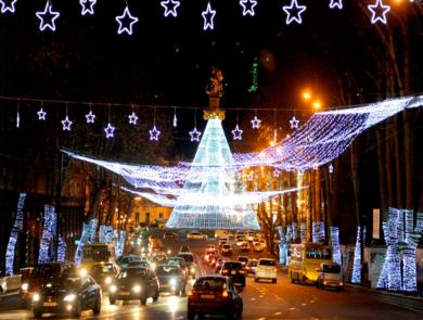 Праздничный Тбилиси