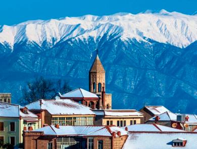 Грузинская зима