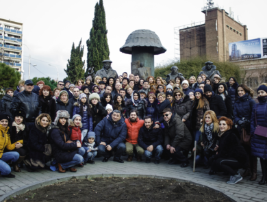 Our big group in Tbilisi
