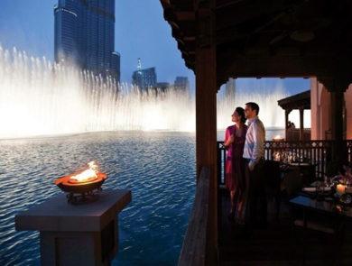 Дубайские фонтаны