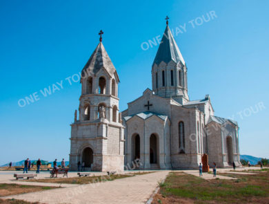 Ghazanchetsots St. Amenaprkich (Savior) church