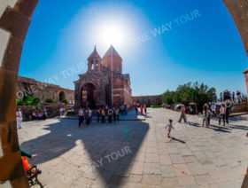 Etchmiadzin Cathedral, Zvartnots Cathedral, Khor Virap Monastery