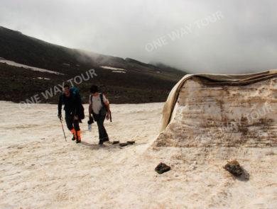 The Northern peak of Mount Aragats