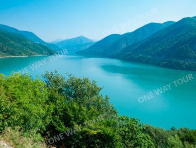 Jinvali lake