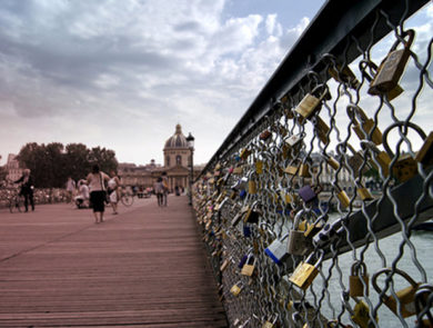 Pont Des Arts, Париж