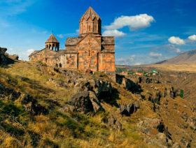 11 Kirche in der Region Aragatsotn