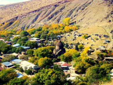 Surb Astvatsatsin Monastery of Bjni