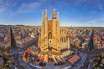 Sagrada Familia, Барселона