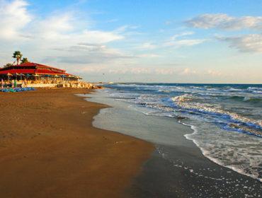 Beach rest in Limassol