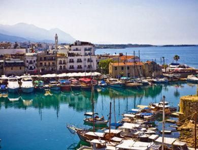 Kyrenia port