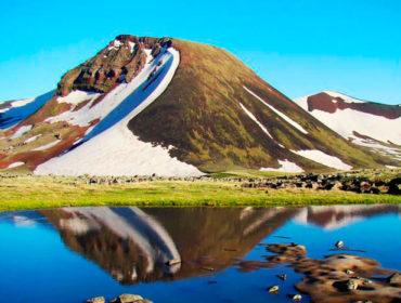 Восхождение на гору Аждаак (3597м)