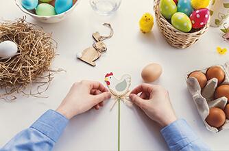 Vorbereitungen für Ostern