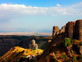 Amberd, Lake Kari, Mughni, Armenian Alphabet Monument