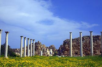 Հին Salamis թաղամաս