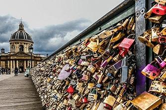 Սիրահարների կամուրջ, Փարիզ