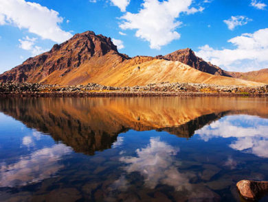 Lake Kari (Aragats Mountain)