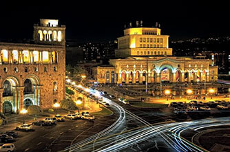 Night Yerevan