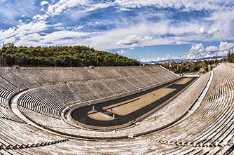 Стадион Panathenaic в Афинах