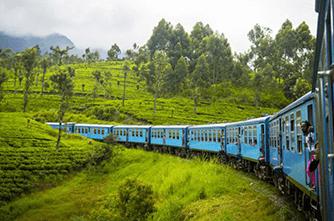 Шри-Ланка, Scenic Железнодорожный маршрут