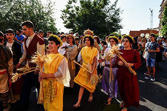 Фестиваль воды Вардавар