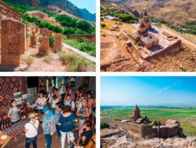 Монастырь Хор Вирап, Монастырь Нораванк, Арени